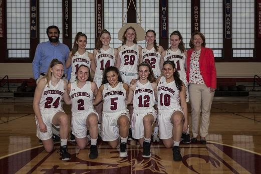 Varsity Girls Basketball 2017-18
