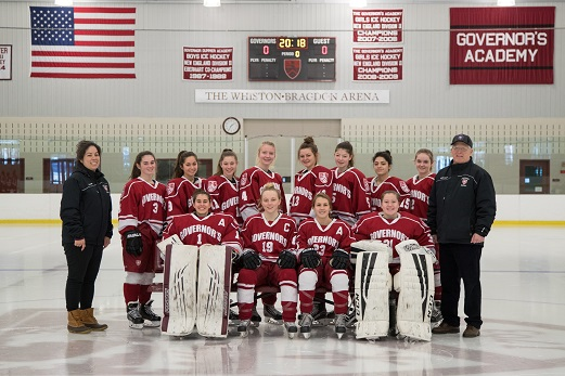 Varsity Girls Hockey 2017-18
